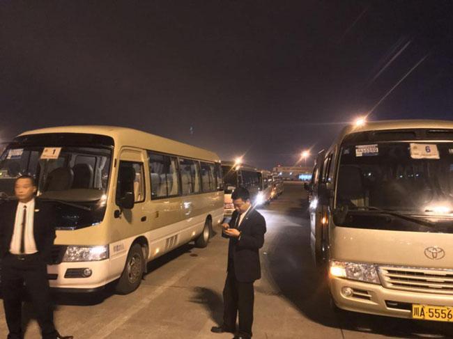 爱尔兰众议长访川 成都国信租车为其提供专业用车保障服务