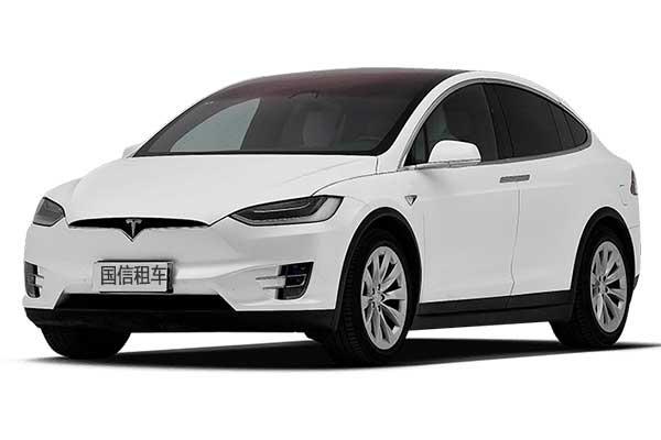 成都租越野车特斯拉model x 90D价格费用多少钱