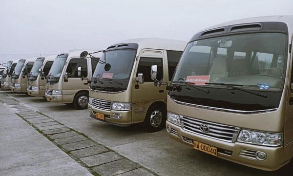 成都市区会议包车