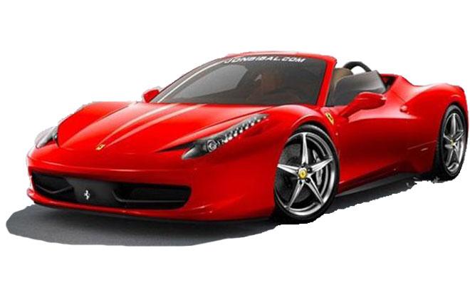 成都租跑车法拉利458价格费用多少钱
