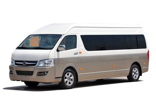 成都租中巴车丰田海狮14座价格费用多少钱