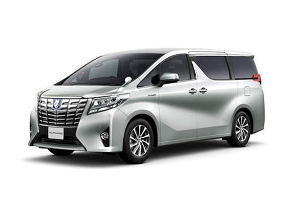 成都租商务车7座丰田埃尔法价格费用多少钱